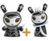 Pawn & Queen set (Black) Shah Mat Dunny by Otto Björnik