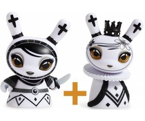 Pawn & Queen set (White) Shah Mat Dunny by Otto Björnik