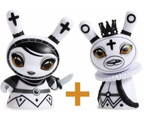 Pawn & King set (White) Shah Mat Dunny by Otto Björnik