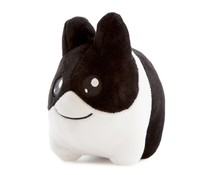 "4.5"" Litton Plush (Black) by Frank Kozik x Kidrobot"