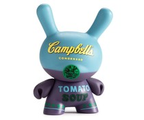 Campbells Soup 3/40 (Blue) - Andy Warhol Dunny series