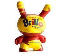 Brillo 1/20 (Yellow) - Andy Warhol Dunny series
