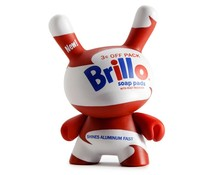 Brillo 2/20 (White) - Andy Warhol Dunny series