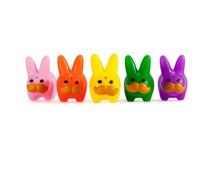 Mini Stache Labbit Pride Pack [5 pcs] by Frank Kozik