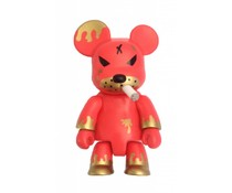 "2.5"" Redrum Bear Qee (Original) by Frank Kozik"