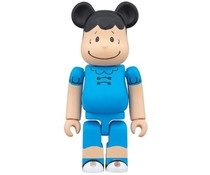 100% Bearbrick - Lucy (Peanuts)