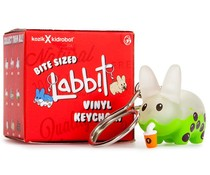 Bite Sized Labbit Vinyl Keychains by Frank Kozik - 1x Blindbox