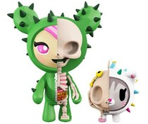 Sandy & Carina (XXRAY) by Jason Freeny x Tokidoki