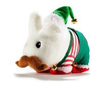 "7"" Holiday Elf Labbit Plush (Xmas) by Frank Kozik"