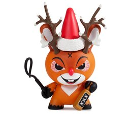 "3"" Rise of Rudolph X-mas Dunny by Frank Kozik"