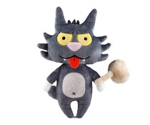 "8"" Scratchy Phunny Plush (The Simpsons Tree House of Horrors)"
