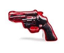 "10"" Revolver Plush (Medium) by Andy Warhol x Kidrobot"