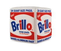 "10"" Brillo Box Plush (Medium) by Andy Warhol x Kidrobot"