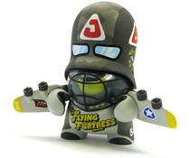 Flying Fortress Trooper Green (Teddy Troops 2.0) by Flying Fortress