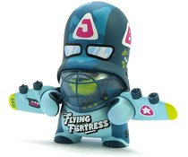 Flying Fortress Trooper Blue (Teddy Troops 2.0) by Flying Fortress