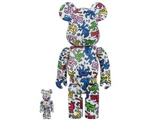 400% & 100% Bearbrick set - Keith Haring