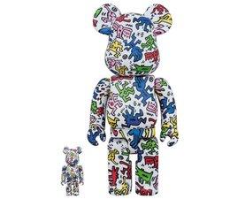 [Pre-Order] 400% & 100% Bearbrick set - Keith Haring