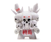 Death (White) 2/24 by Tokyo Jesus - Arcane Divination Dunny Series