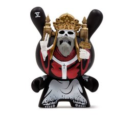 The Hierophant (Red) 2/24 by Jon-Paul Kaiser - Arcane Divination Dunny Series