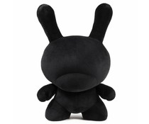 "20"" Plush Dunny (Black) by Kidrobot"