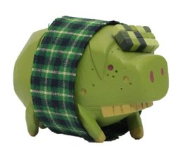 The Pig (Green) by Michael Lau