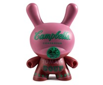 "8"" Campbells Soup Can Dunny by Andy Warhol x Kidrobot"