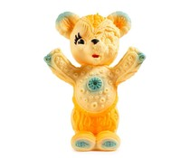 "10"" Free Hugs Bear (Orange) by Frank Kozik"