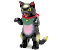 "8"" Daioh Negora (Black Lucky Cat) by Konatsu"