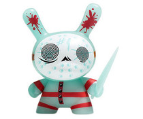 "The Mad Butcher (GID) 2/20 - ""The 13"" GID Dunny series by Brandt Peters"