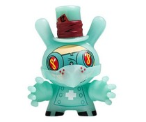 "Dr. Noxious (GID) 3/40 - Dunny ""The 13"" GID Dunny series by Brandt Peters"