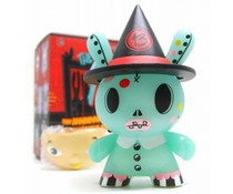 """Bellaluna (GID) 1/80 - Dunny """"The 13"""" GID Dunny series by Brandt Peters"""