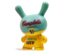 Campbells Soup Can (Yellow) 3/24 - Andy Warhol Dunny series 2