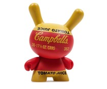 Campbells Soup Box (Red) 3/24 - Andy Warhol Dunny series 2