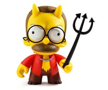 "6.5"" Devil Flanders (The Simpsons) by Matt Groening"
