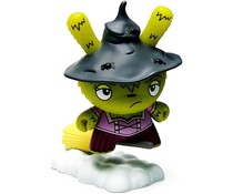 Which Witch Is Which (Green) 1/96 - Scared Silly  Dunny series