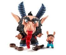 "5"" Krampus Dunny by Scott Tolleson"