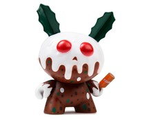 "3"" Christmas Pudding Dunny by Kronk"