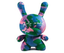 "20"" Plush Dunny (Camo) by Andy Warhol"