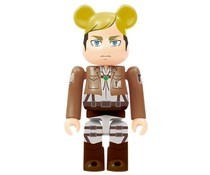 Erwin Smith Bearbrick - Attack on Titan Bearbrick series