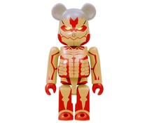 Armored Titan Bearbrick - Attack on Titan Bearbrick series