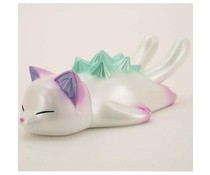"4.5"" Sleeping Negora (White Pearl) by Konatsu"