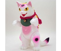 "8"" Daioh Negora (Pink Lucky Cat) by Konatsu"