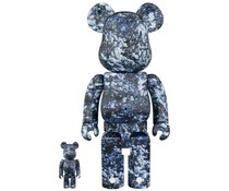 400% & 100% Bearbrick set - Yosakura by Mika Ninagawa