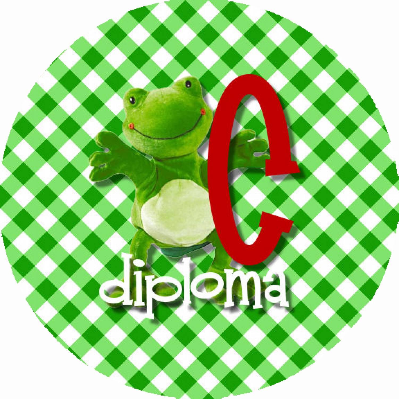 """Button """"Diploma C"""""""
