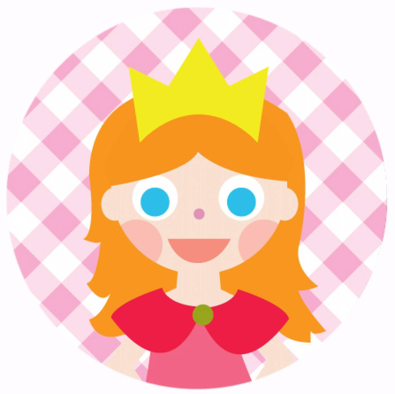 """Button """"Prinses"""""""