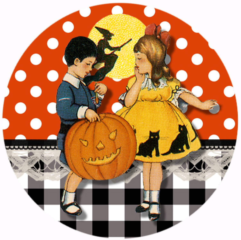 "Button ""Halloween 2"""