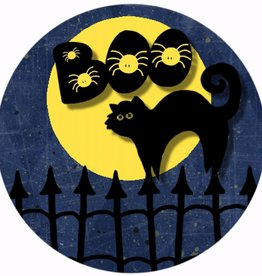 "Button ""Halloween 4"""