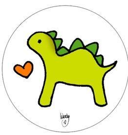 """Button """"Dino"""""""
