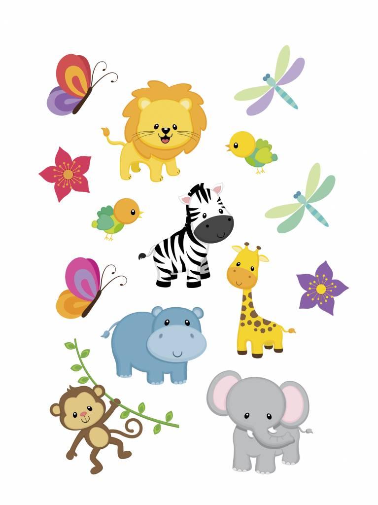 Jungle stickers