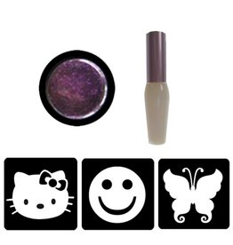 Glittertattoo set - lief